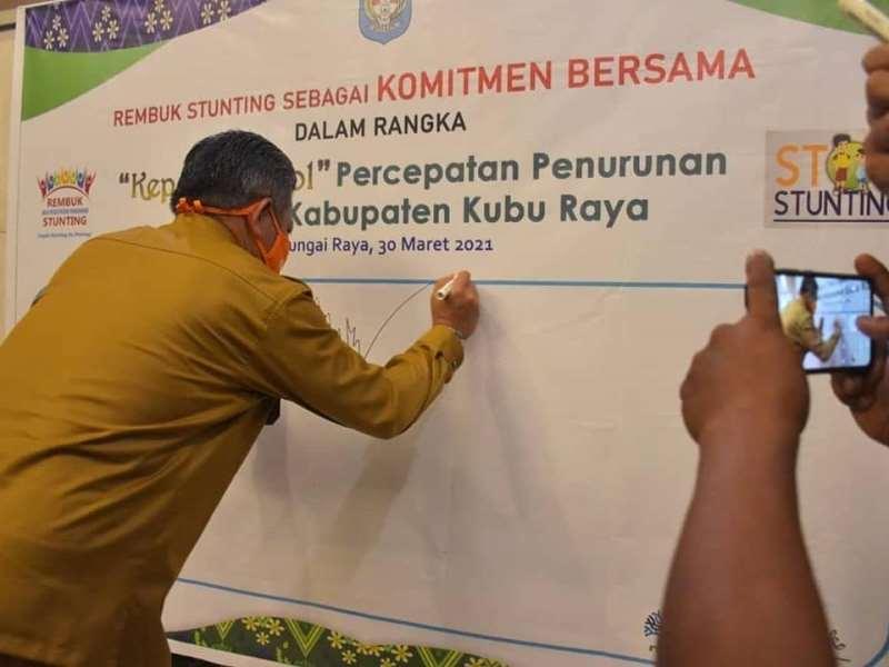 Pra Musrenbang RKPD Tahun 2022 Tingkat Kecamatan di Kabupaten Kubu Raya.