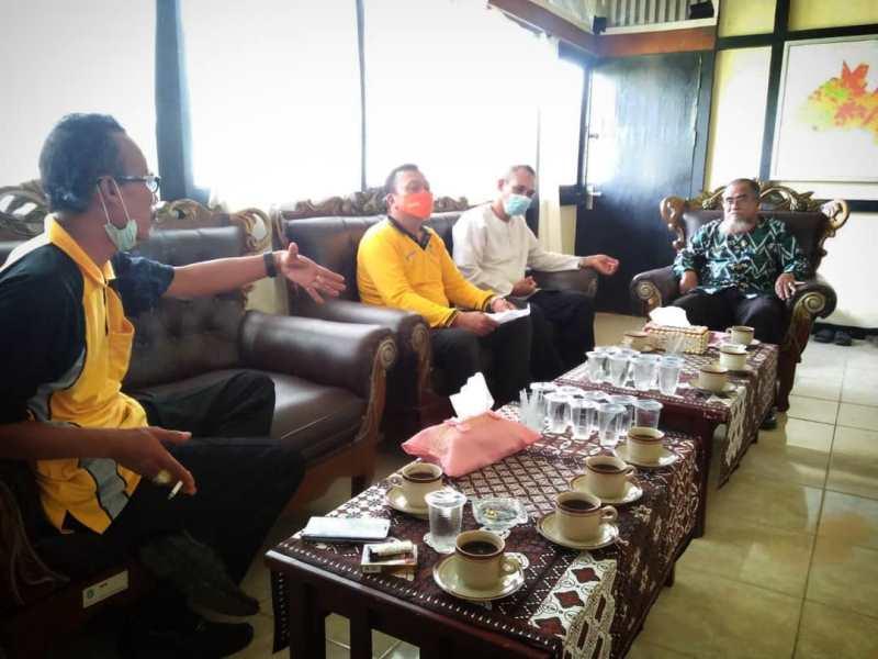 Rapat Koordinasi STBM Pembahasan Menuju Desa ODF,