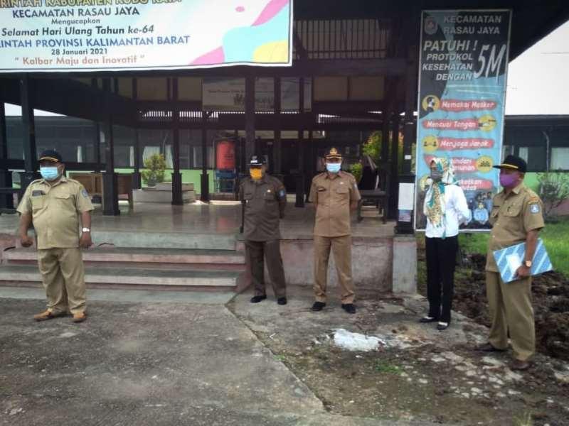 Apel Pagi Kecamatan Rasau Jaya