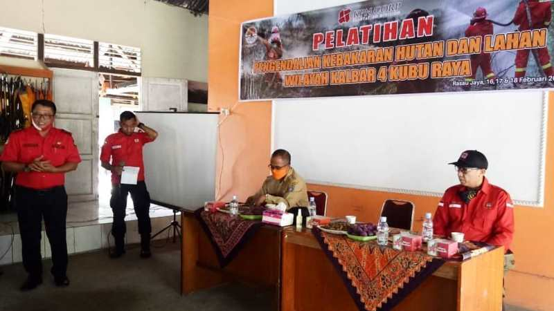 Pelatihan Pengendalian Kebakaran Hutan dan Lahan Wilayah Kalbar 4 Kubu Raya